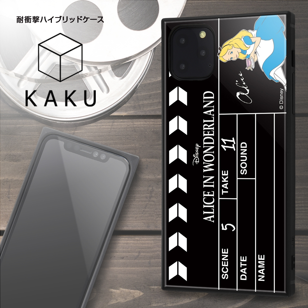 iPhone 11 Pro Max /『ディズニーキャラクター』/耐衝撃ハイブリッドケース KAKU /『ピノキオ/Clapperboard』【受注生産】