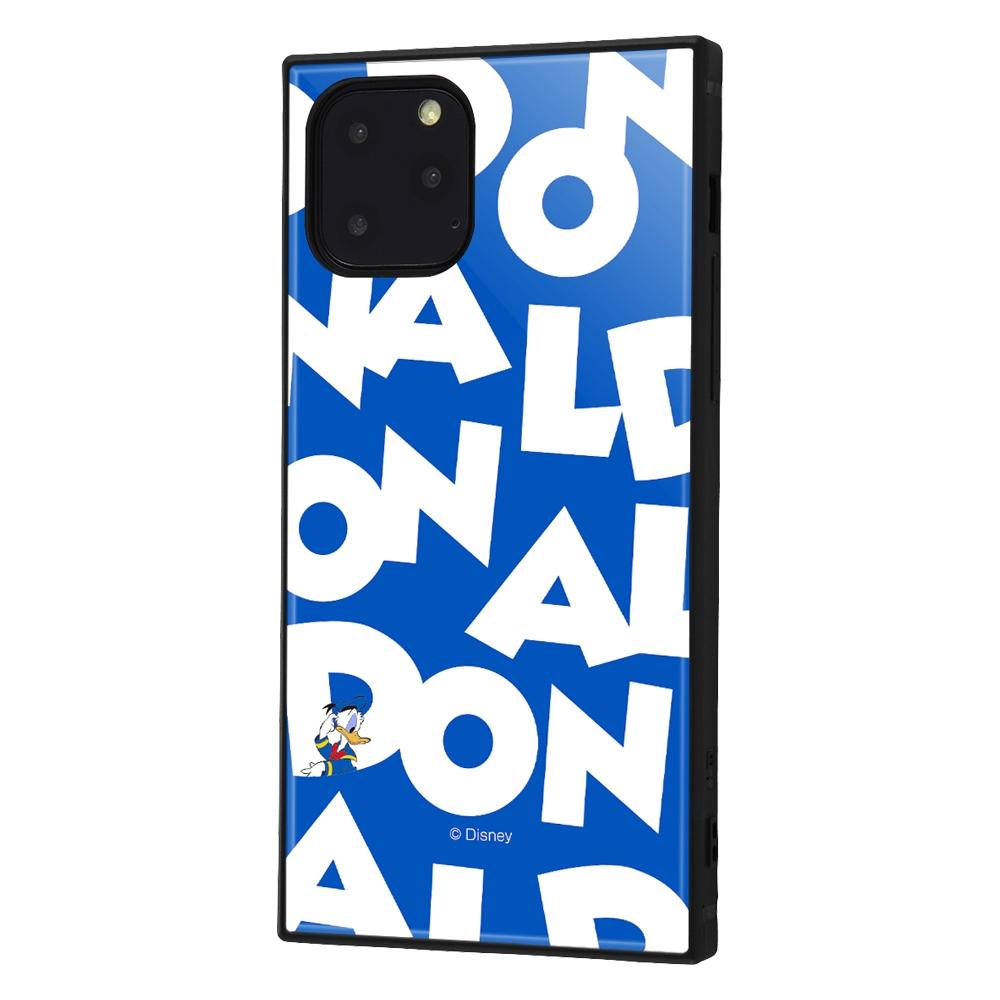 iPhone 11 Pro /『ディズニーキャラクター』/耐衝撃ハイブリッドケース KAKU /『ドナルドダック/I AM』【受注生産】