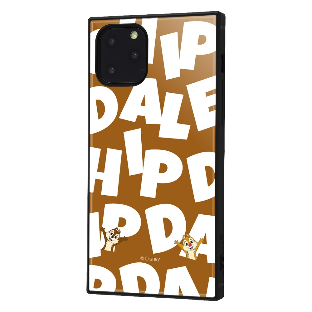 iPhone 11 Pro /『ディズニーキャラクター』/耐衝撃ハイブリッドケース KAKU /『チップ&デール/I AM』【受注生産】