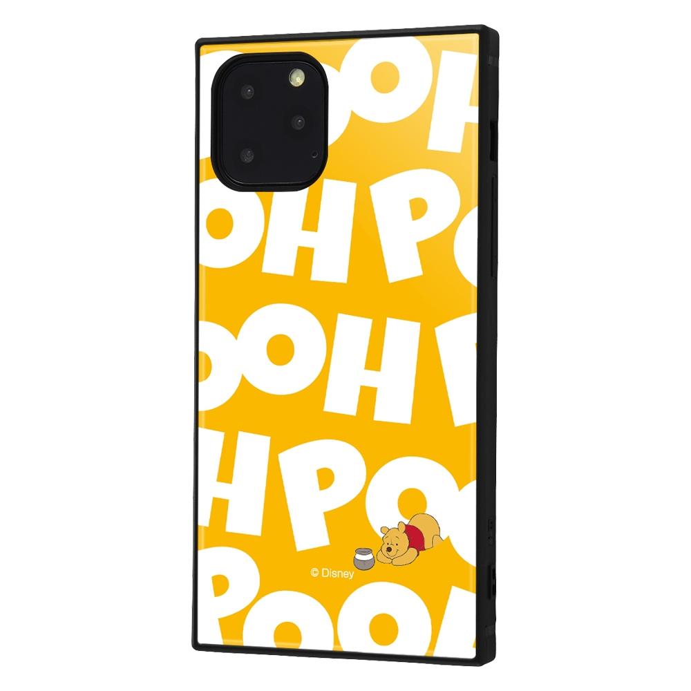 iPhone 11 Pro /『くまのプーさん』/耐衝撃ハイブリッドケース KAKU /『くまのプーさん/I AM』【受注生産】
