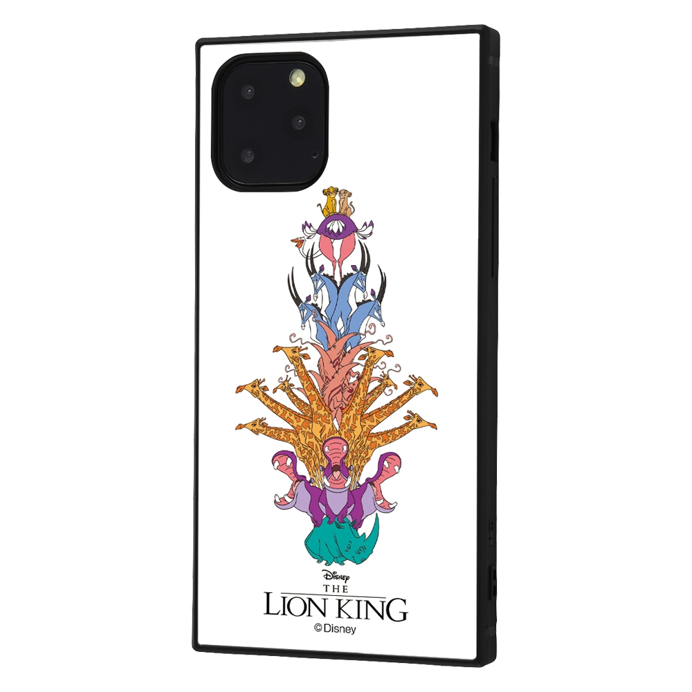 iPhone 11 Pro /『ライオン・キング』/耐衝撃ハイブリッドケース KAKU /『ライオン・キング/アニマルツリー』【受注生産】