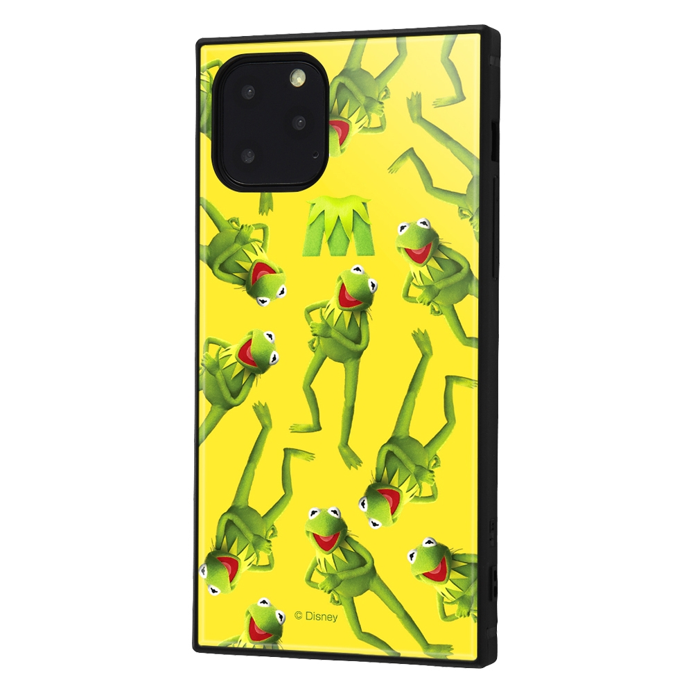 iPhone 11 Pro /『マペッツ』/耐衝撃ハイブリッドケース KAKU /『カーミット/M』【受注生産】
