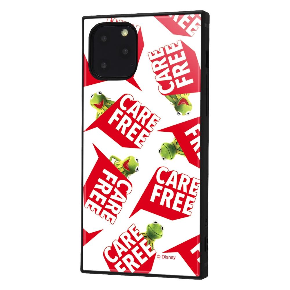 iPhone 11 Pro /『マペッツ』/耐衝撃ハイブリッドケース KAKU /『カーミット/Care free』_3【受注生産】