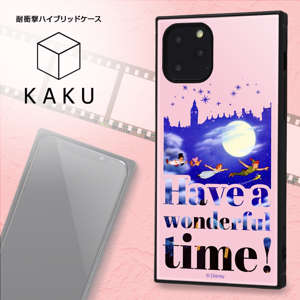 iPhone 11 Pro /『ディズニーキャラクター』/耐衝撃ハイブリッドケース KAKU /『わんわん物語/Famous scene』【受注生産】