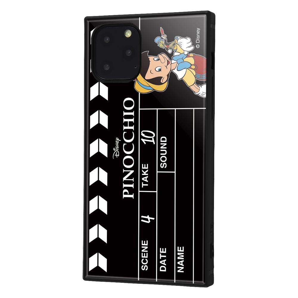 iPhone 11 Pro /『ディズニーキャラクター』/耐衝撃ハイブリッドケース KAKU /『ピノキオ/Clapperboard』【受注生産】