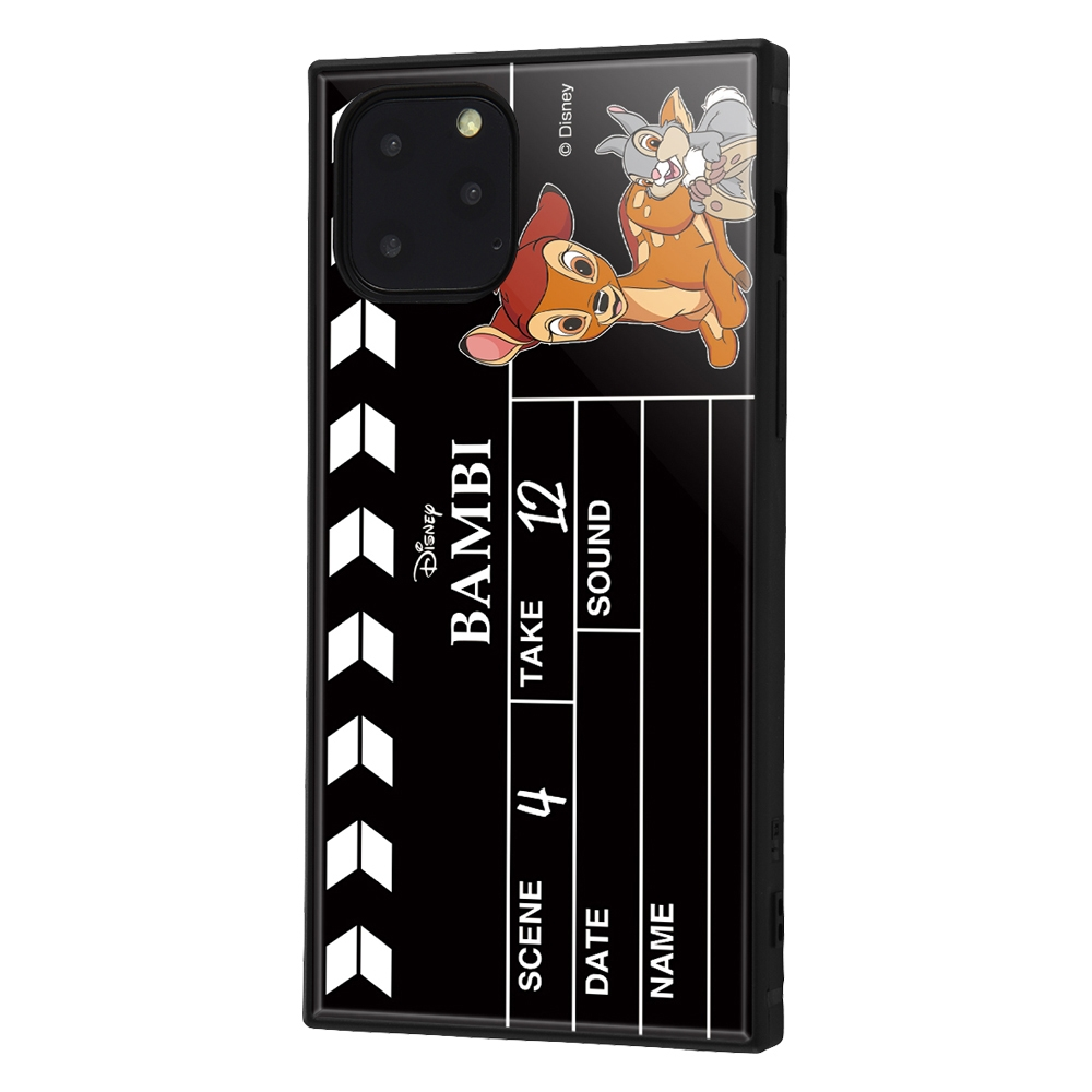 iPhone 11 Pro /『ディズニーキャラクター』/耐衝撃ハイブリッドケース KAKU /『バンビ/Clapperboard』【受注生産】