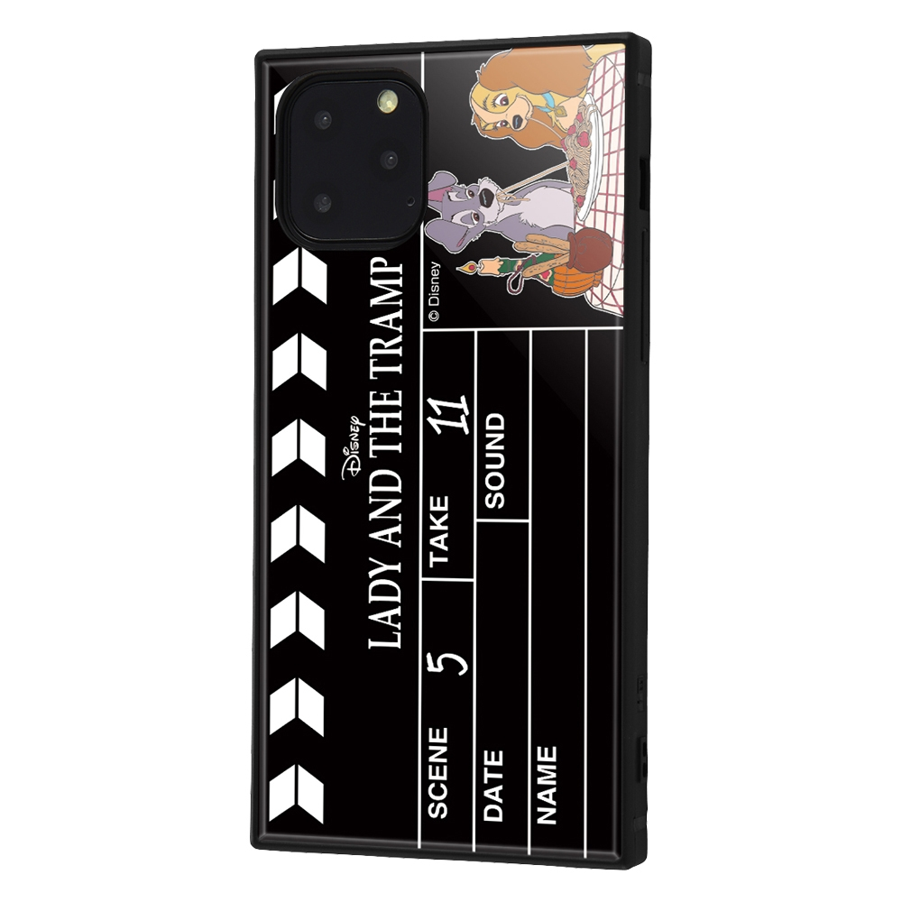 iPhone 11 Pro /『ディズニーキャラクター』/耐衝撃ハイブリッドケース KAKU /『わんわん物語/Clapperboard』【受注生産】