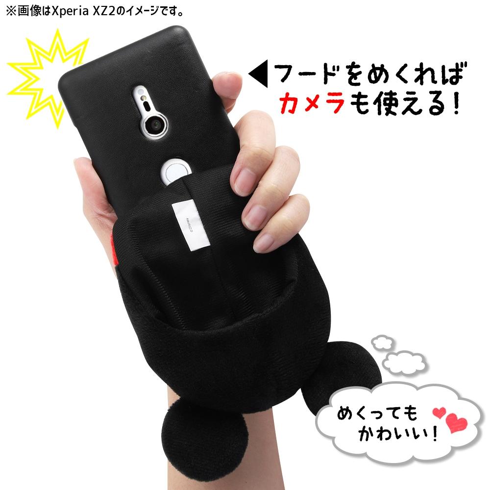 iPhone 11 Pro Max用/『ディズニーキャラクター』/きゃらぐるみケース/ミッキー