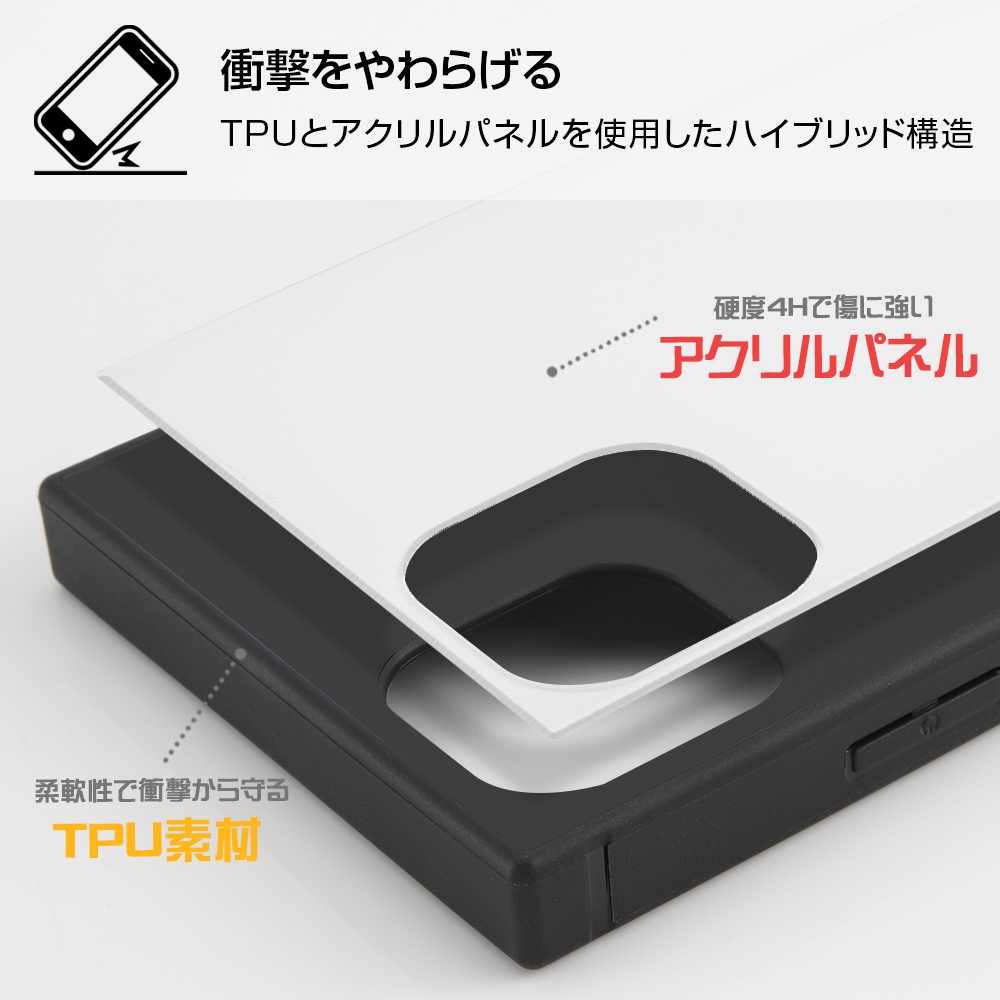 iPhone 11 Pro /ディズニーキャラクター/耐衝撃ハイブリッドケース KAKU/『ミッキーマウス/S collection』【受注生産】