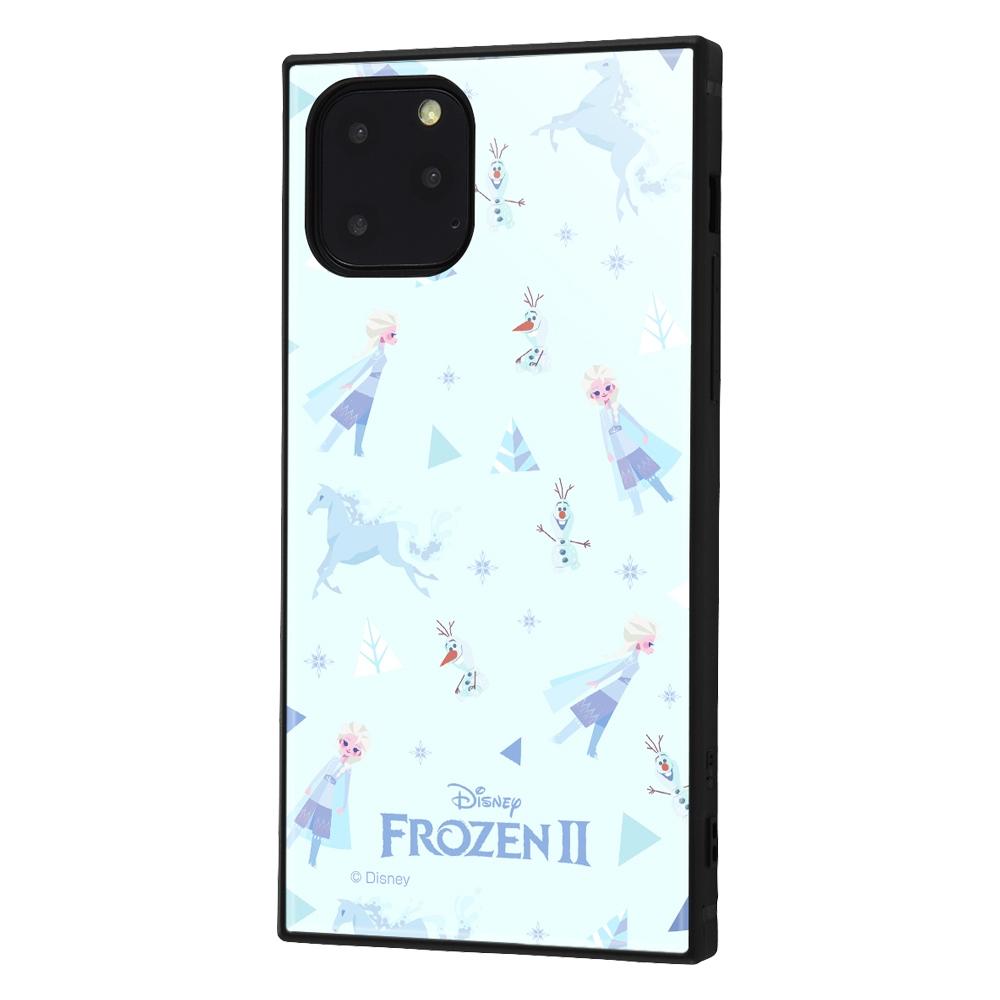 iPhone 11 Pro /『アナと雪の女王2』/耐衝撃ハイブリッドケース KAKU/『アナと雪の女王22/総柄』_01【受注生産】