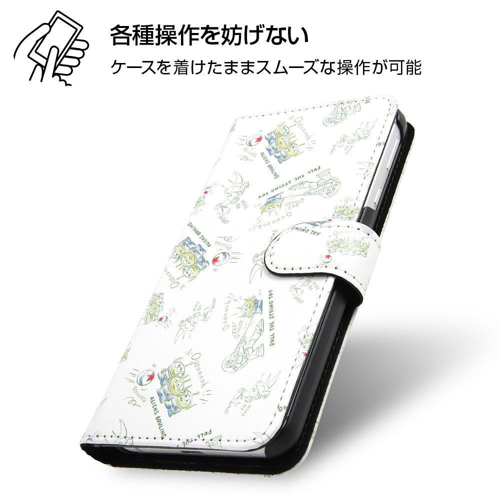 AQUOS sense3/AQUOS sense3 lite/Android One S7 『ディズニー・ピクサーキャラクター』/手帳型アートケース マグネット/トイ・ストーリー22