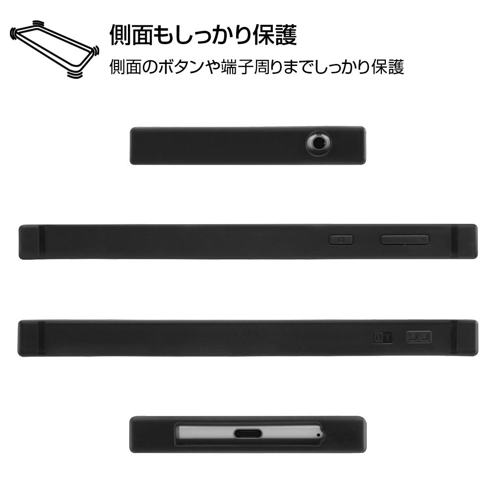 AQUOS sense3/AQUOS sense3 lite/Android One S7 /『ディズニーキャラクター』/耐衝撃ハイブリッドケース KAKU/『ミニーマウス/OTONA BLACK』【受注商品】
