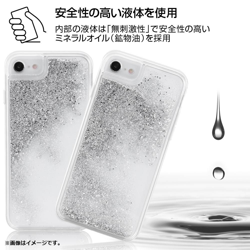 iPhone SE(第2世代)/ 8/7 / 6s / 6 /『アナと雪の女王』/ラメ グリッターケース/『アナと雪の女王/スノーフレーク』【受注生産】