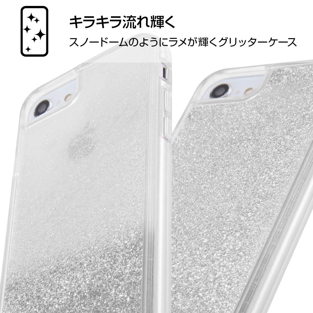 iPhone SE(第2世代)/ 8/7 / 6s / 6 /『アナと雪の女王』/ラメ グリッターケース/『アナと雪の女王/OTONA』_01【受注生産】