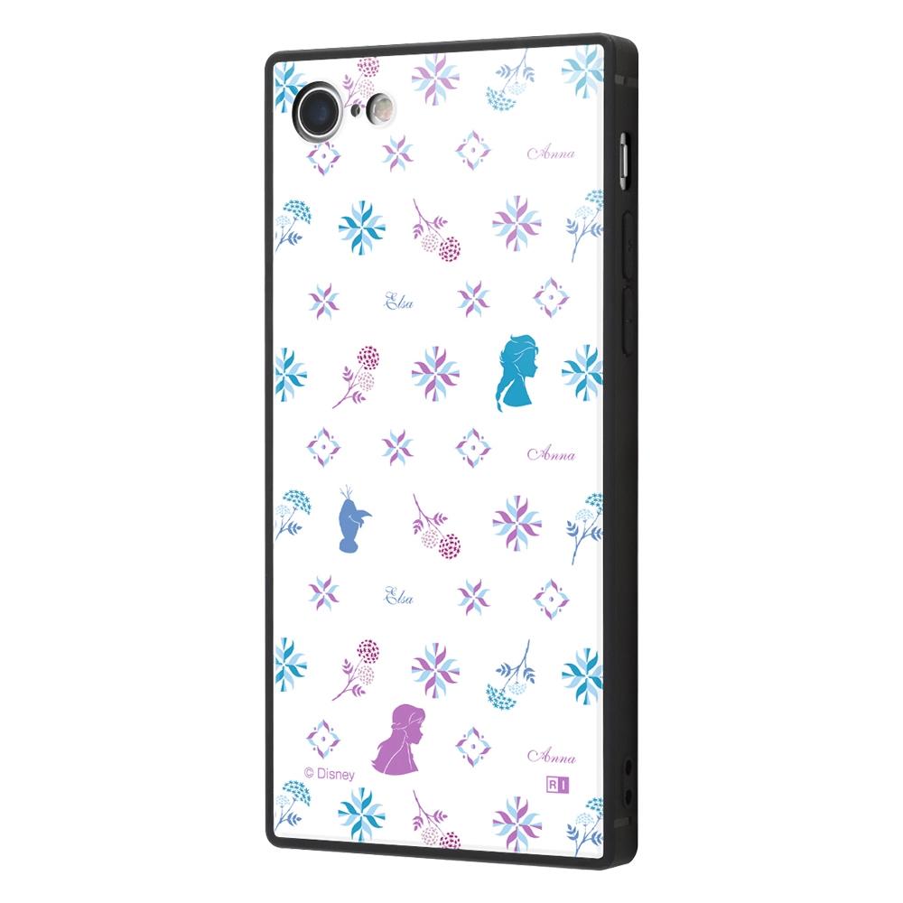 iPhone SE(第2世代)/8/ 7  /『アナと雪の女王2』/耐衝撃ケース KAKU トリプルハイブリッド『アナと雪の女王2/総柄』_04【受注生産】