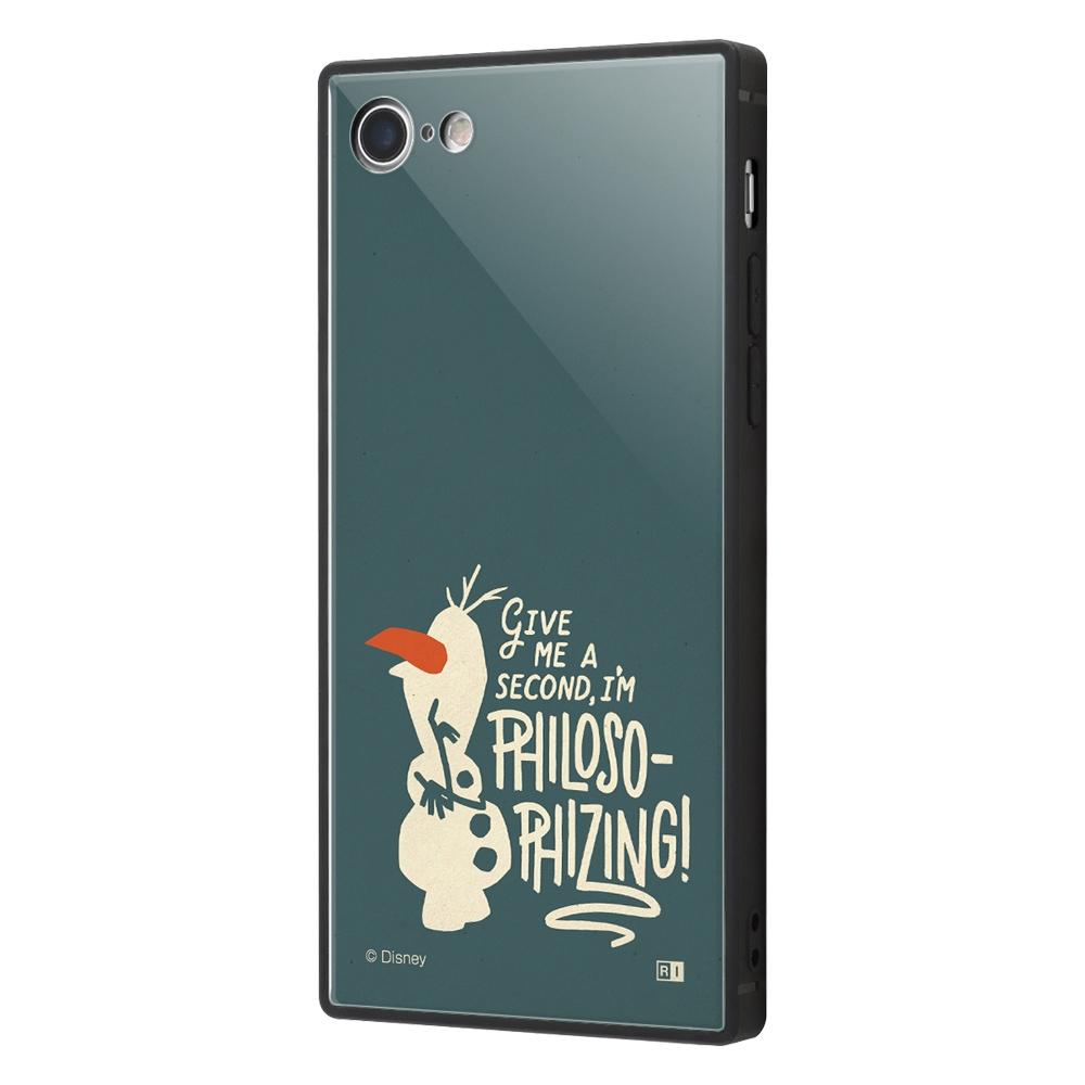 iPhone SE(第2世代)/8/ 7  /『アナと雪の女王2』/耐衝撃ケース KAKU トリプルハイブリッド『アナと雪の女王2/オラフ』_01【受注生産】