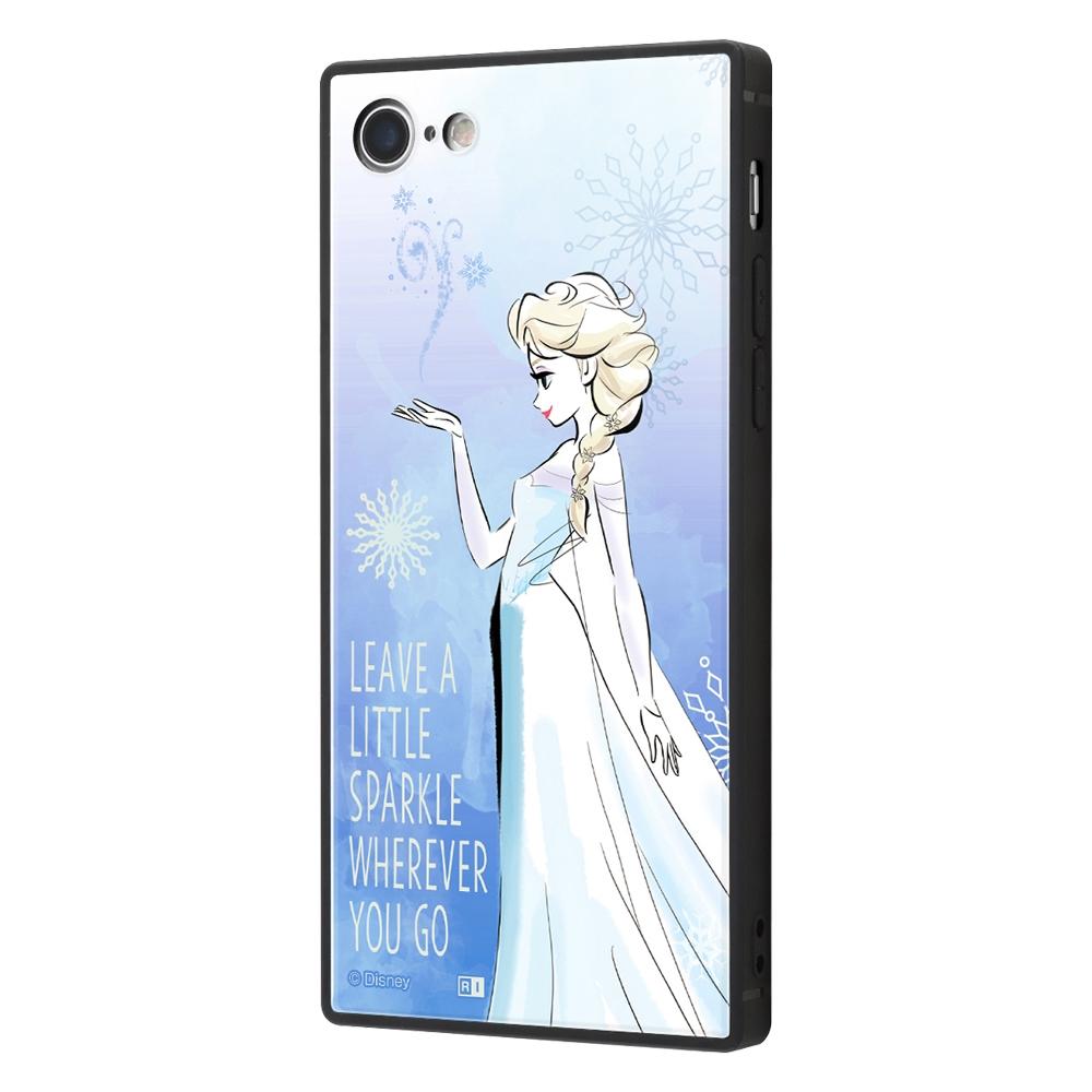 iPhone SE(第2世代)/8/ 7  /『アナと雪の女王』/耐衝撃ケース KAKU トリプルハイブリッド『アナと雪の女王/エルサ』_01【受注生産】