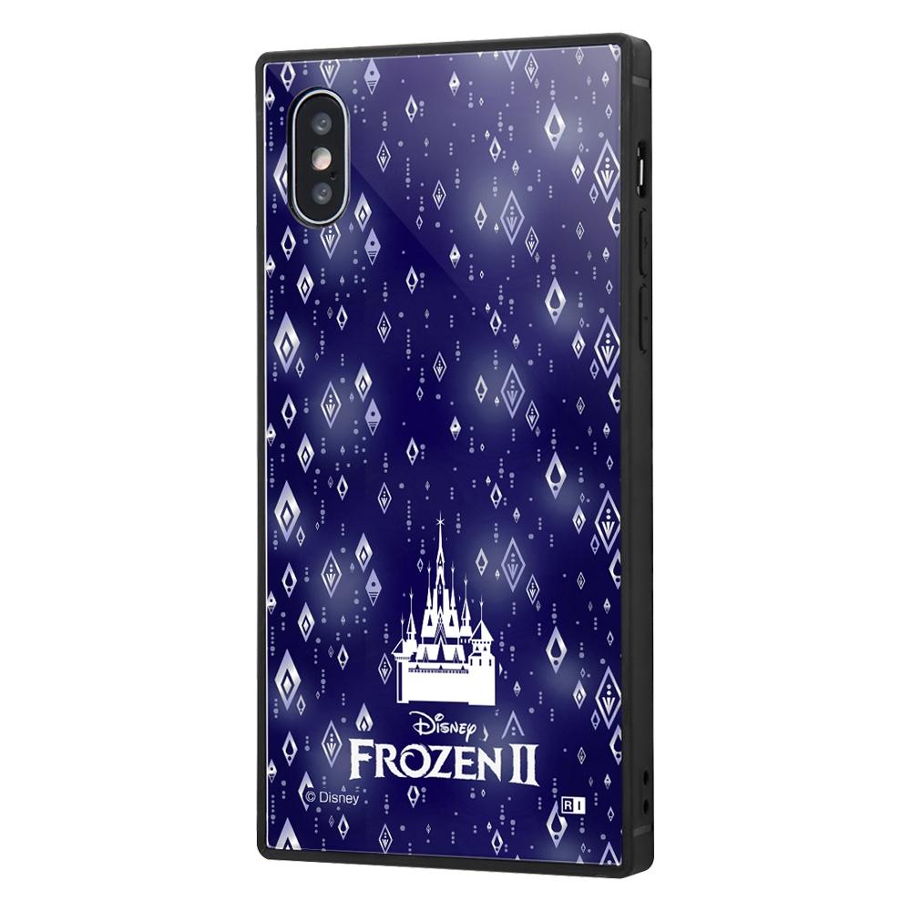iPhone XS / X /『アナと雪の女王2』/耐衝撃ケース KAKU トリプルハイブリッド『アナと雪の女王2/総柄』_03【受注生産】