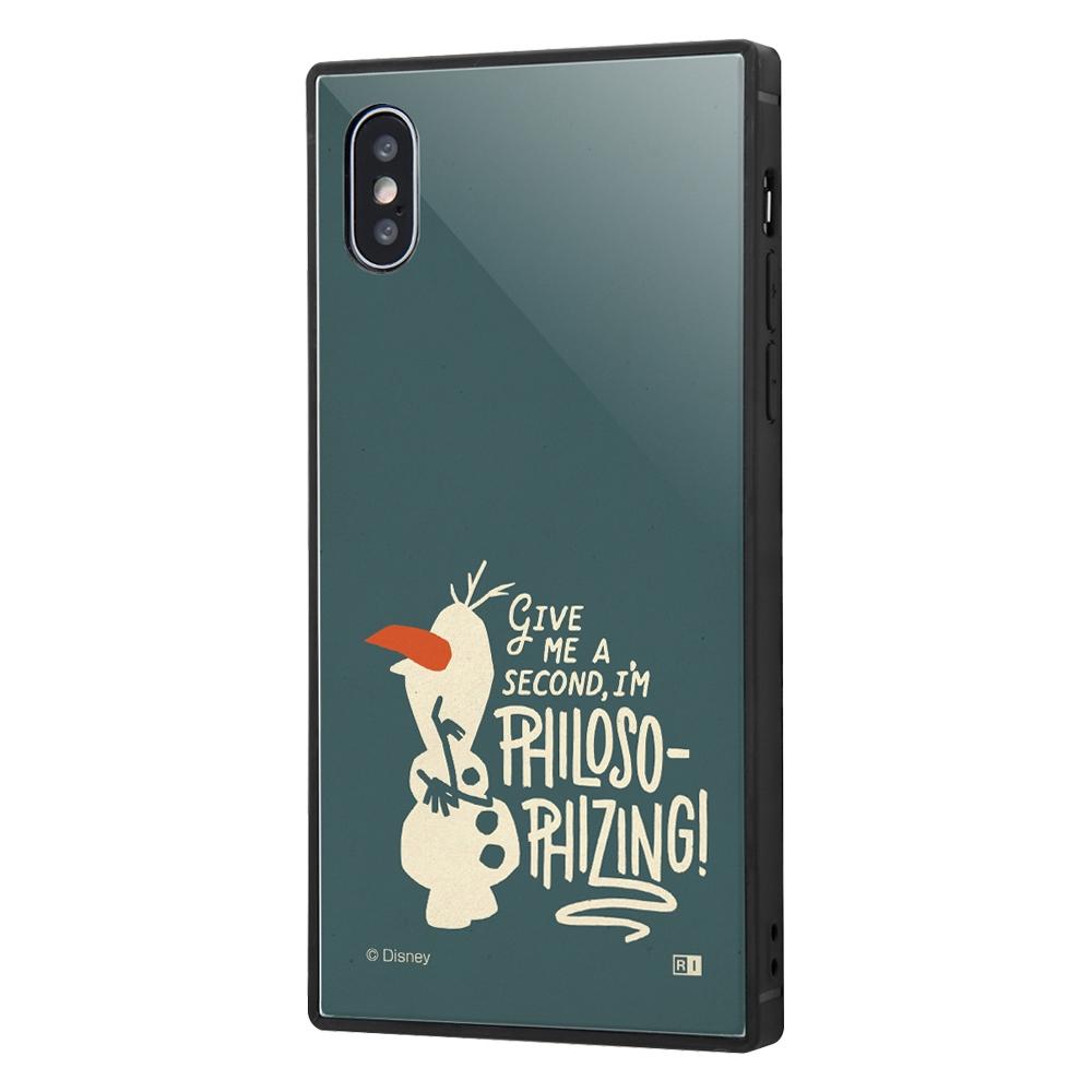 iPhone XS / X /『アナと雪の女王2』/耐衝撃ケース KAKU トリプルハイブリッド『アナと雪の女王2/オラフ』_01【受注生産】