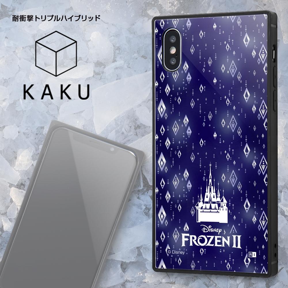 iPhone XS / X /『アナと雪の女王』/耐衝撃ケース KAKU トリプルハイブリッド『アナと雪の女王/オラフ』_01【受注生産】