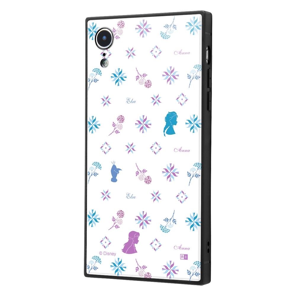 iPhone XR /『アナと雪の女王2』/耐衝撃ケース KAKU トリプルハイブリッド『アナと雪の女王2/総柄』_04【受注生産】