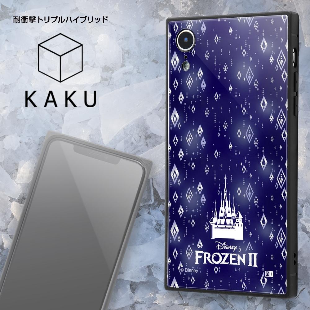 iPhone XR /『アナと雪の女王』/耐衝撃ケース KAKU トリプルハイブリッド『アナと雪の女王/エルサ』_01【受注生産】