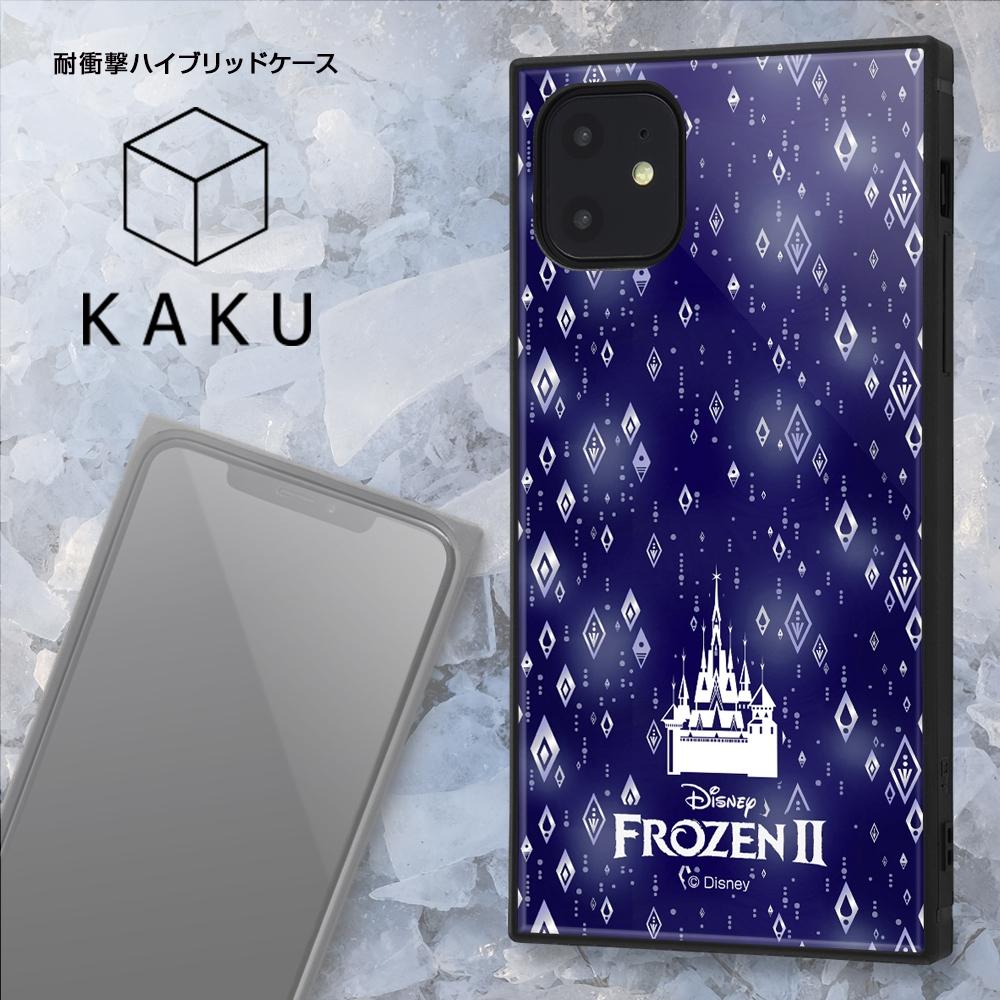 iPhone 11 /『アナと雪の女王2』/耐衝撃ハイブリッドケース KAKU『アナと雪の女王2/総柄』_03【受注生産】