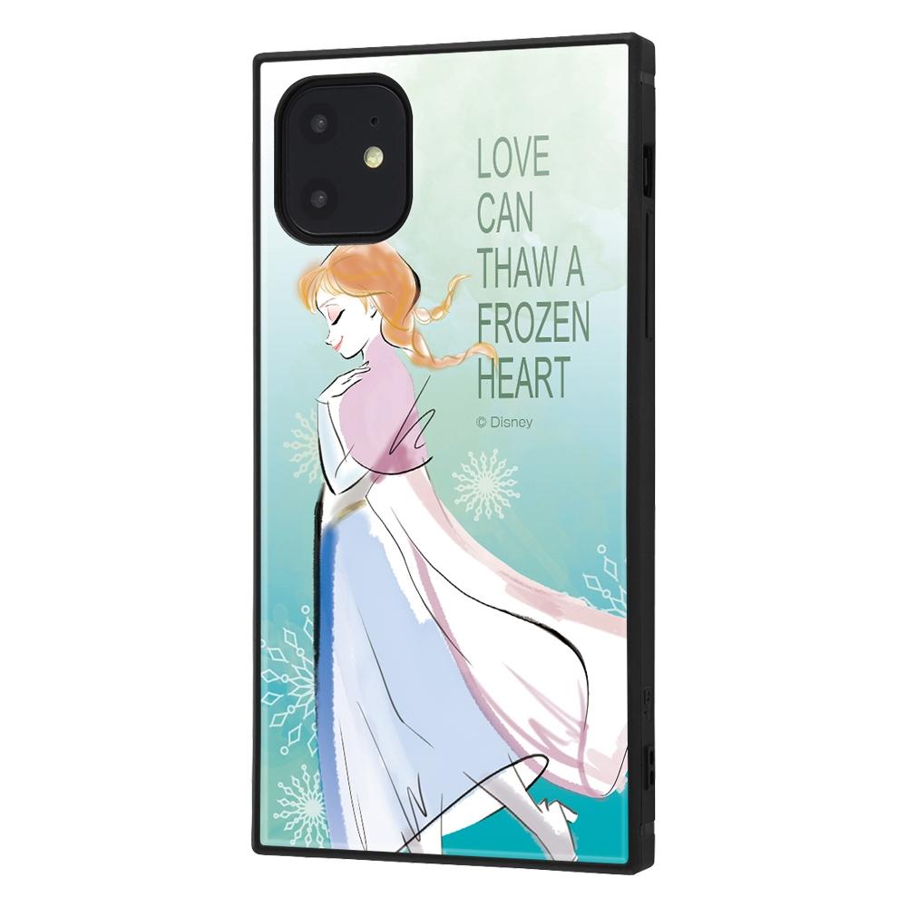 iPhone 11 /『アナと雪の女王』/耐衝撃ハイブリッドケース KAKU『アナと雪の女王/アナ』_01【受注生産】