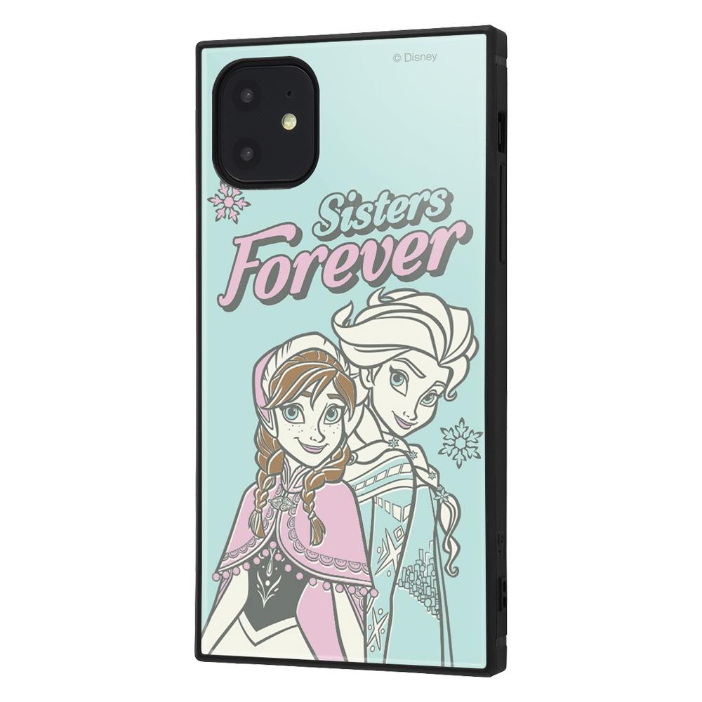 iPhone 11 /『アナと雪の女王』/耐衝撃ハイブリッドケース KAKU『アナと雪の女王/エルサとアナ』_01【受注生産】