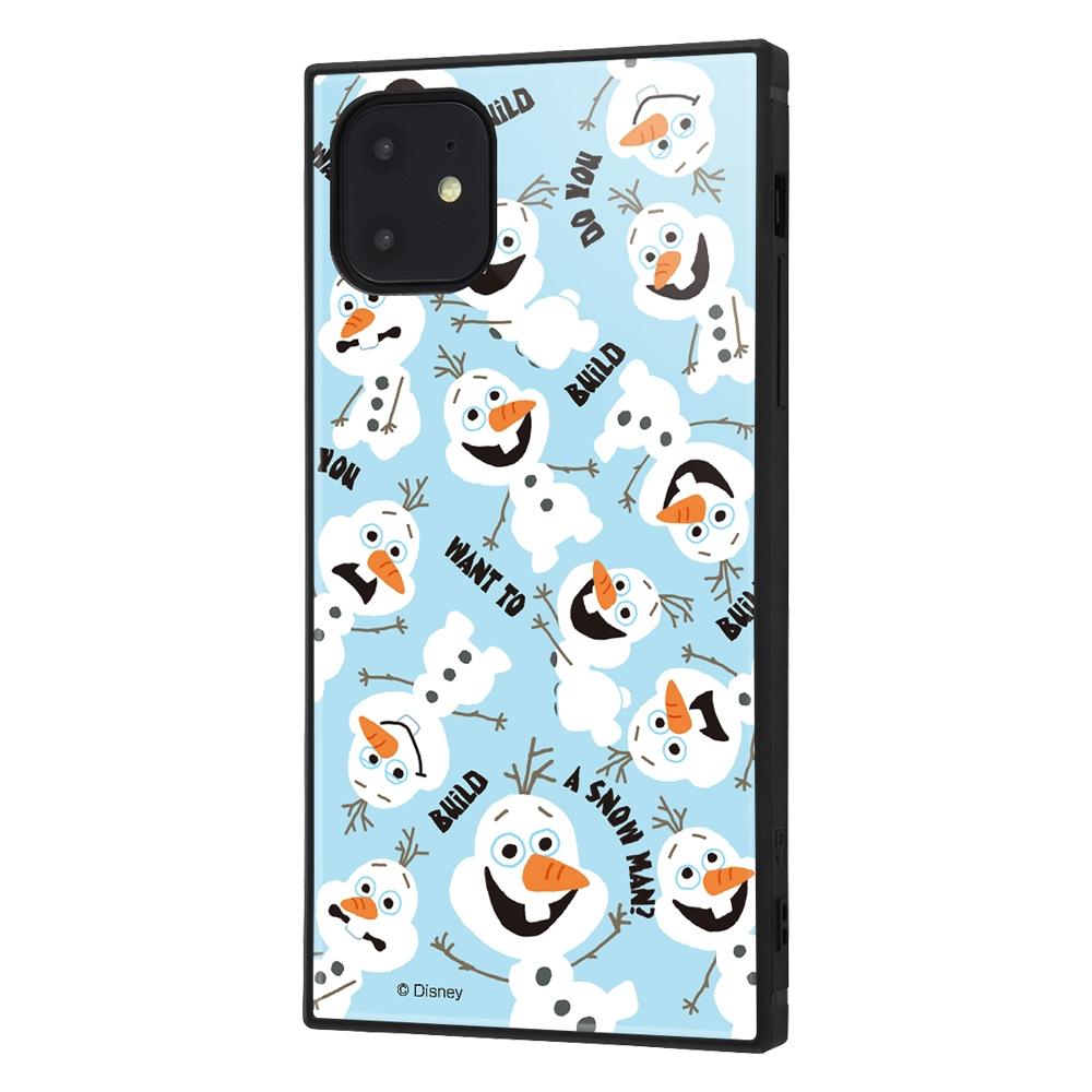iPhone 11 /『アナと雪の女王』/耐衝撃ハイブリッドケース KAKU『アナと雪の女王/オラフ』_01【受注生産】