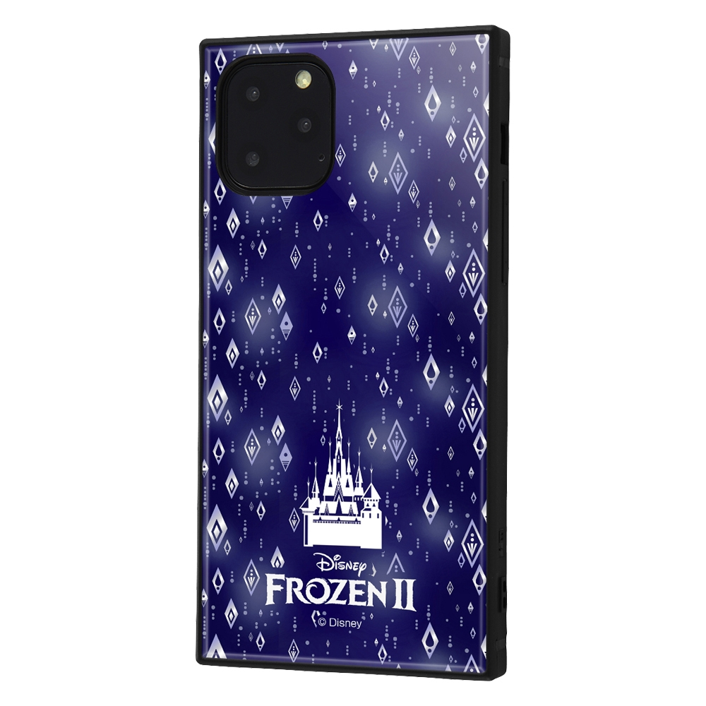 iPhone 11 Pro /『アナと雪の女王2』/耐衝撃ハイブリッドケース KAKU『アナと雪の女王2/総柄』_03【受注生産】