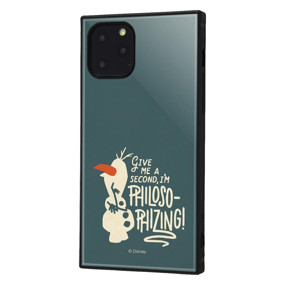 iPhone 11 Pro /『アナと雪の女王2』/耐衝撃ハイブリッドケース KAKU『アナと雪の女王2/オラフ』_01【受注生産】