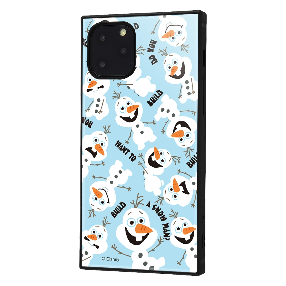 iPhone 11 Pro /『アナと雪の女王』/耐衝撃ハイブリッドケース KAKU『アナと雪の女王/オラフ』_01【受注生産】