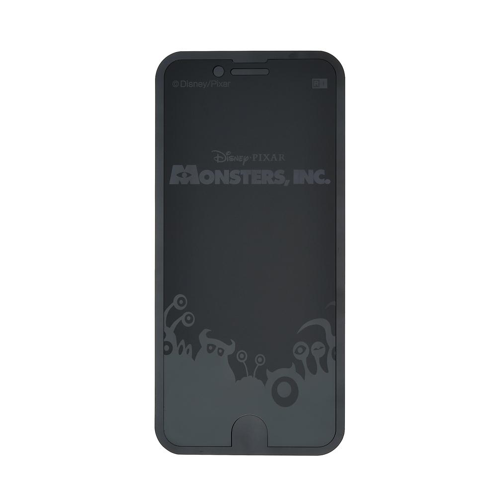 モンスターズ・インク iPhone 6/6s/7/8用液晶保護フィルム トリックガラスフィルム 10H シルエット