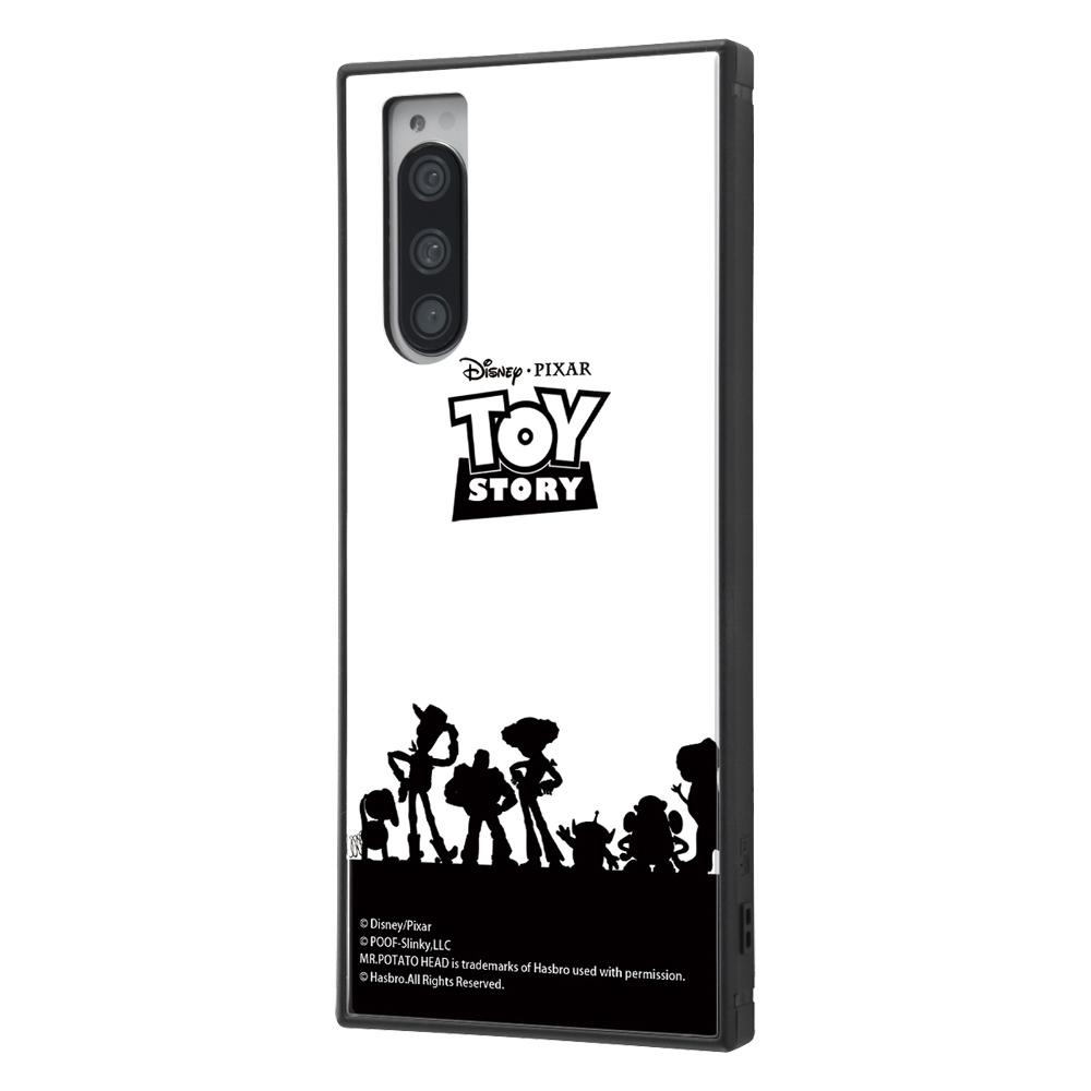 Xperia 5 /『ディズニー・ピクサーキャラクター』/耐衝撃ハイブリッドケース KAKU/『トイ・ストーリー/シルエット』【受注生産】