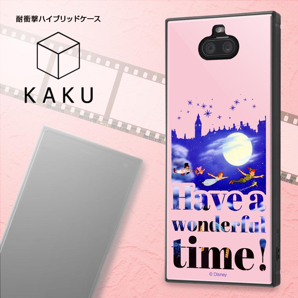Xperia 8 /『ディズニーキャラクター』/耐衝撃ハイブリッドケース KAKU/『ピーター・パン/Famous scene』【受注生産】