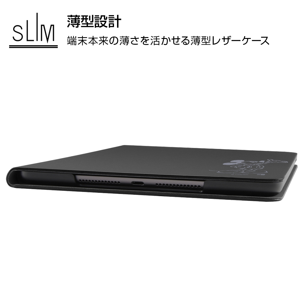 iPad 2019年モデル 10.2inch 第7世代 /『ディズニーキャラクター』/レザーケース/『ミニーマウス』_15【受注生産】