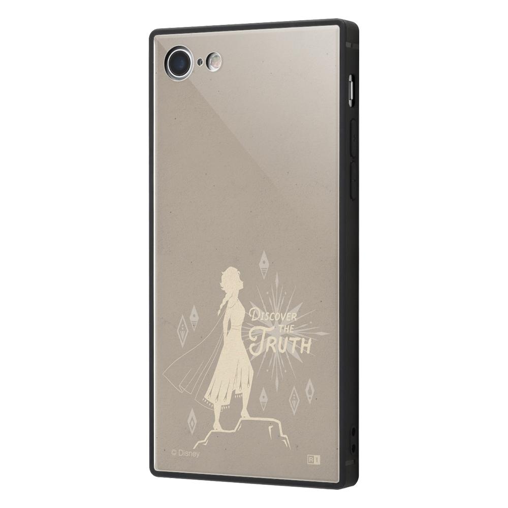iPhone SE(第2世代)/8/ 7  /『アナと雪の女王2』/耐衝撃ケース KAKU トリプルハイブリッド/『アナと雪の女王22/エルサ』_01【受注生産】