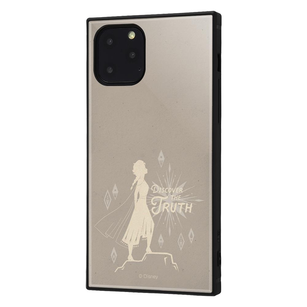 iPhone 11 Pro /『アナと雪の女王2』/耐衝撃ハイブリッドケース KAKU/『アナと雪の女王22/エルサ』_01【受注生産】