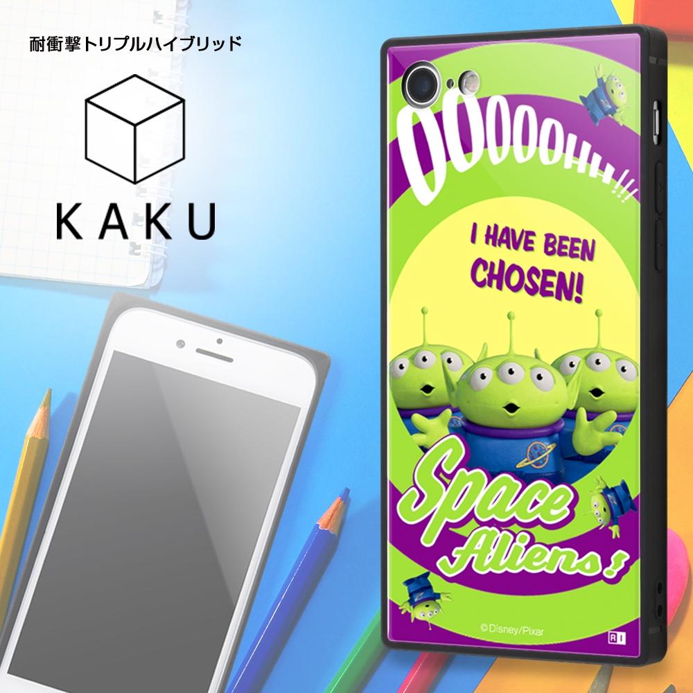 iPhone SE(第2世代)/8/ 7 /『ディズニー・ピクサーキャラクター』/耐衝撃ケース KAKU トリプルハイブリッド/『トイ・ストーリー/カウガール』【受注生産】