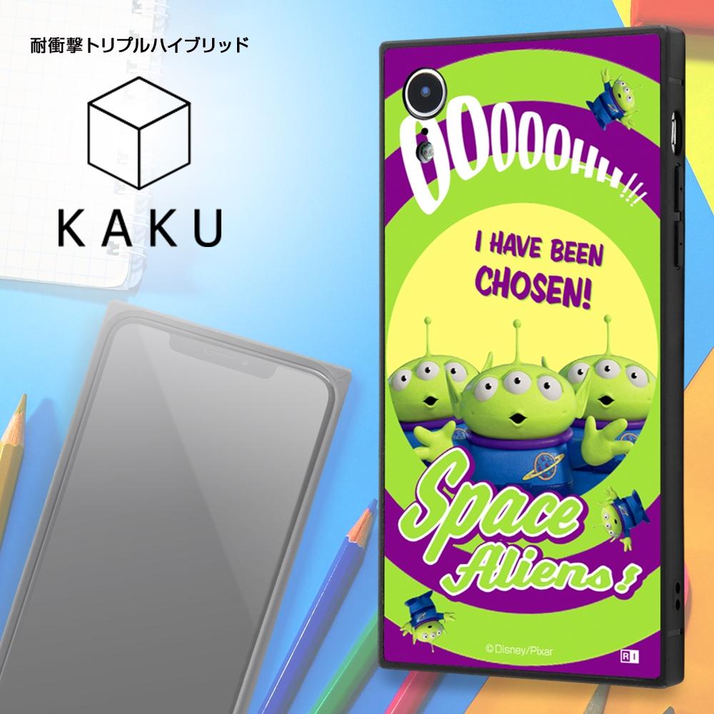 iPhone XR /『ディズニー・ピクサーキャラクター』/耐衝撃ケース KAKU トリプルハイブリッド/『トイ・ストーリー/カウガール』【受注生産】