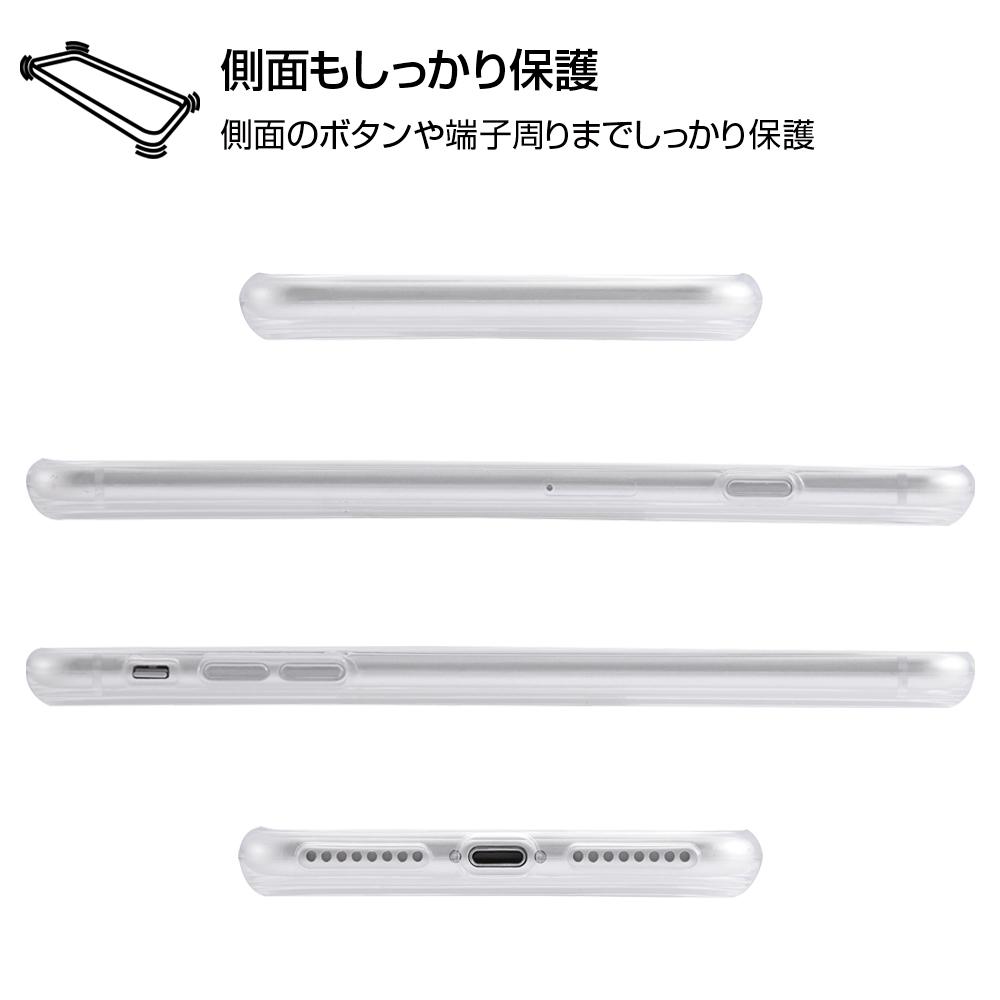 iPhone 8 Plus / 7 Plus /『ディズニーキャラクター』/TPUケース+背面パネル/『ベル/clair』_01【受注生産】