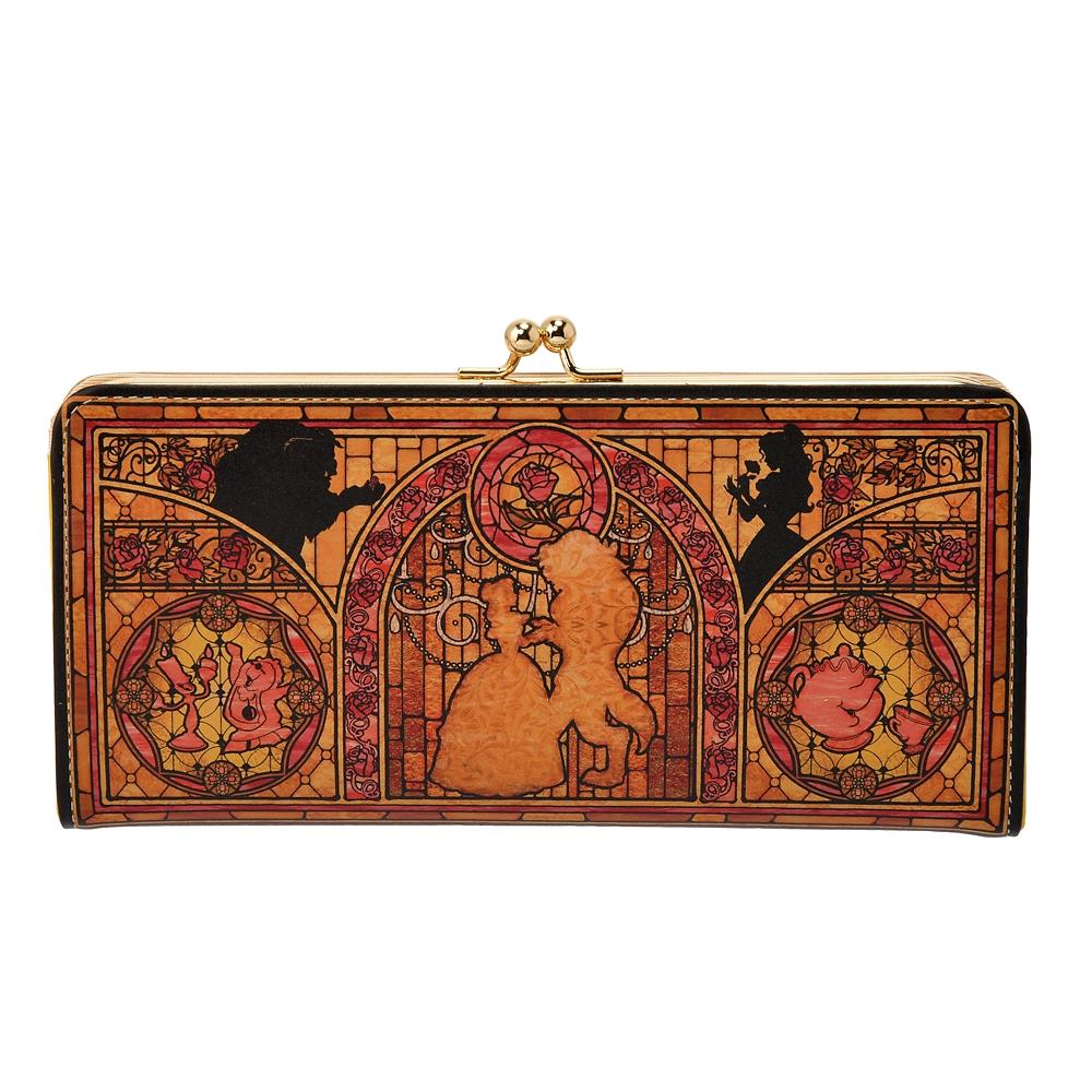 美女と野獣 財布・ウォレット ロング がまぐち ステンドグラスコレクション4