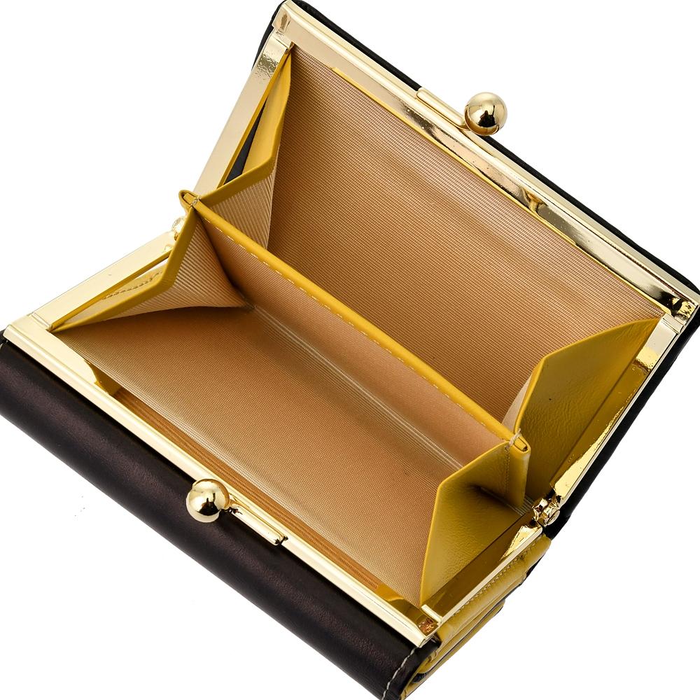 美女と野獣 財布・ウォレット 三つ折り がまぐち ステンドグラスコレクション4