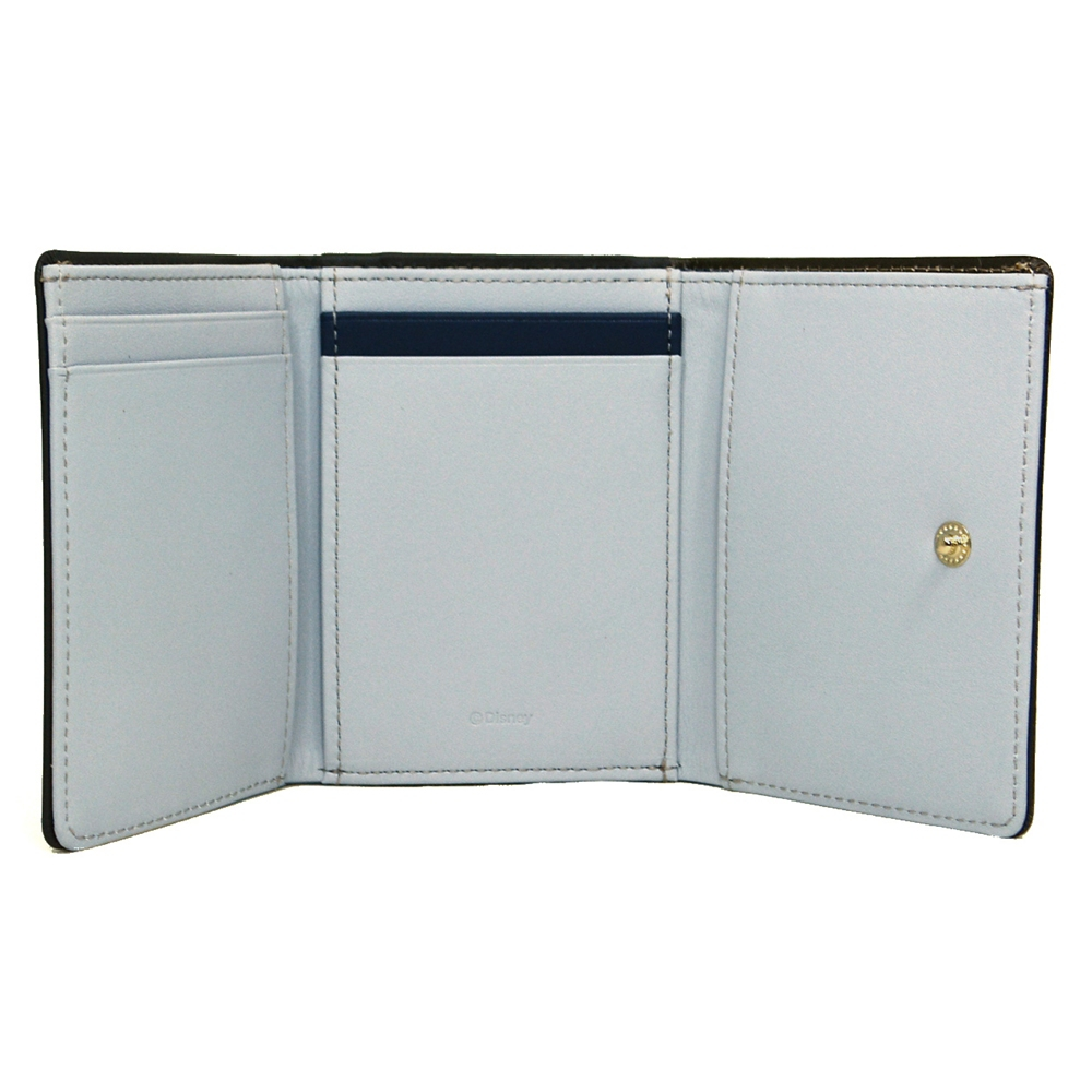 【送料無料】ドナルド&デイジー 財布・ウォレット 三つ折り ミニ ステンドグラスコレクション Fantastic Leather Collection