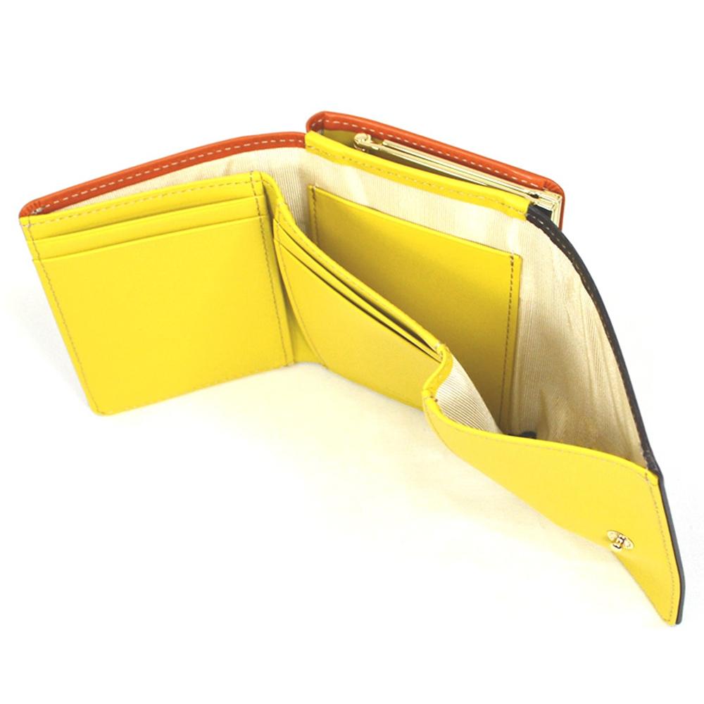 【送料無料】プー&ピグレット 財布・ウォレット 三つ折り ミニ ステンドグラスコレクション Fantastic Leather Collection