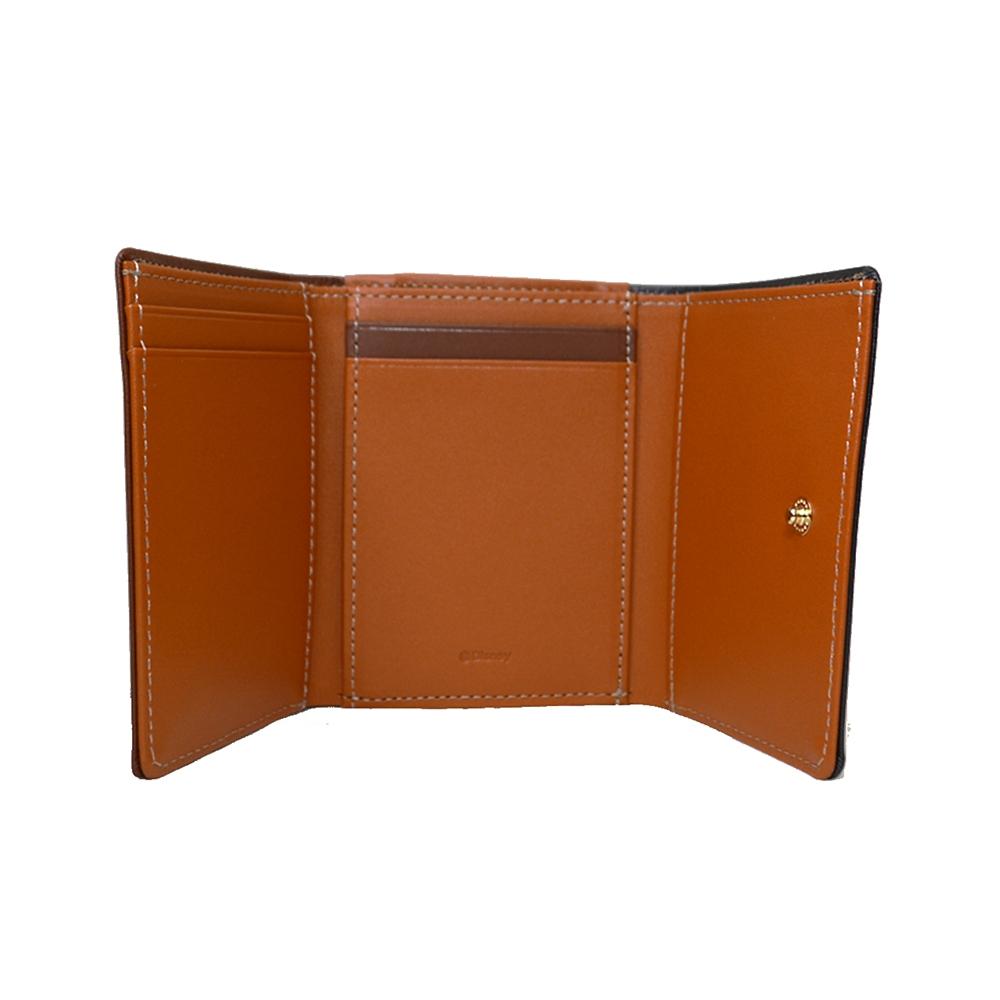 【送料無料】レディ&トランプ 財布・ウォレット 三つ折り ミニ ステンドグラスコレクション Fantastic Leather Collection わんわん物語