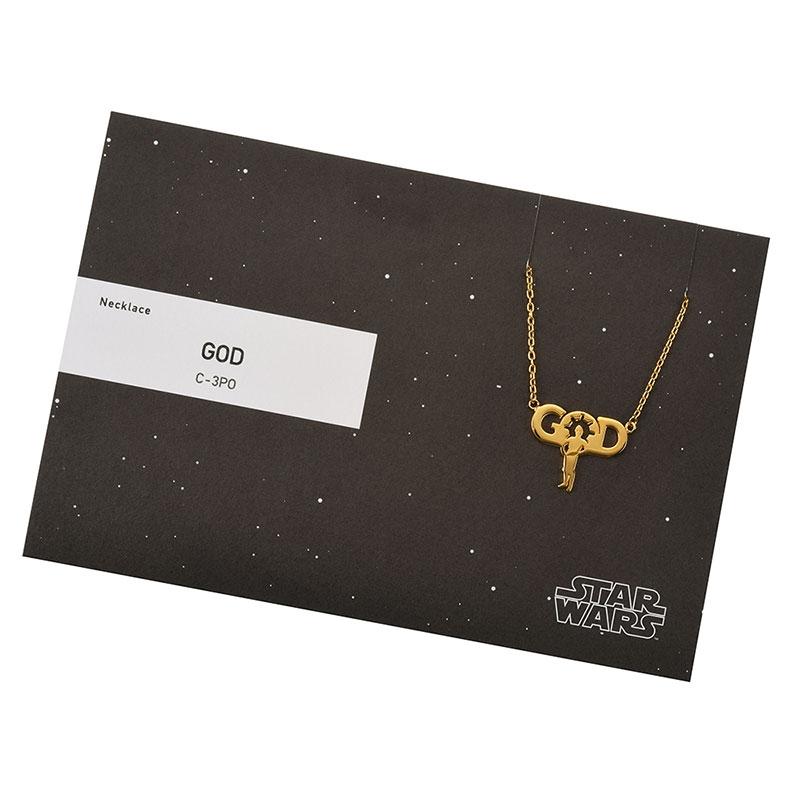 【5108】スター・ウォーズ C-3PO ネックレス GOD