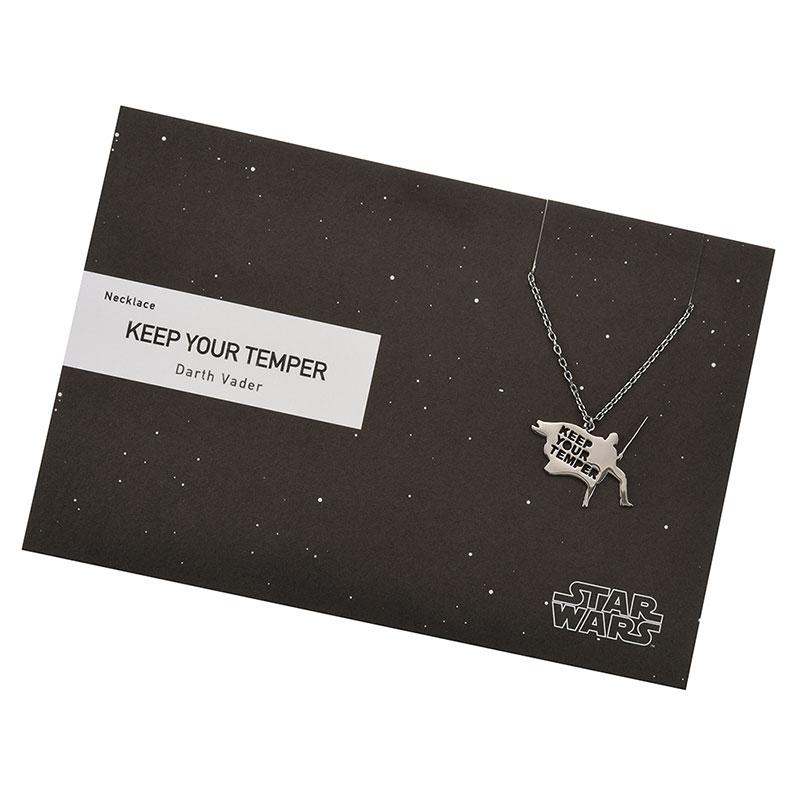 【5108】スター・ウォーズ ダース・ベイダー ネックレス KEEP YOUR TEMPER