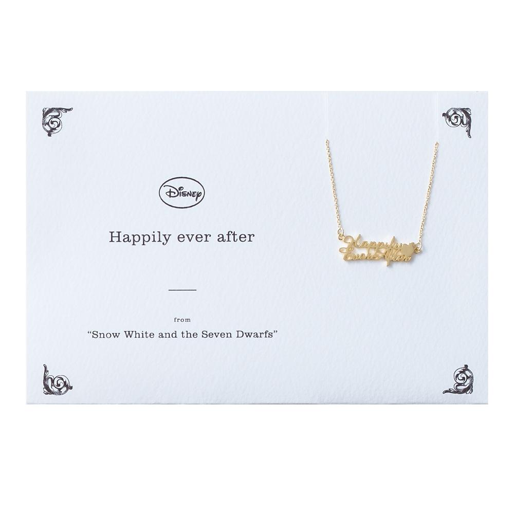 【5108】白雪姫 ネックレス Happily ever after